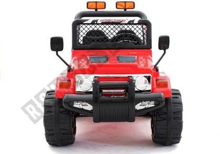 Kinderfahrzeug Jeep Raptor S618 EVA Rot MP3 Anschluss Felgen Auto