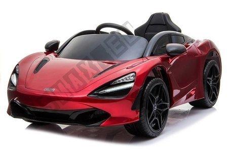 Kinderfahrzeug McLaren 720S Rot lackiert EVA-Reifen Ledersitz 2x45W Auto