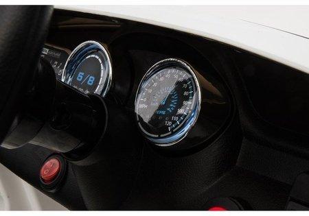 Kinderfahrzeug Mercedes GLA 45 Schwarz EVA-Reifen Ledersitz 2x45W Fahrzeug Auto