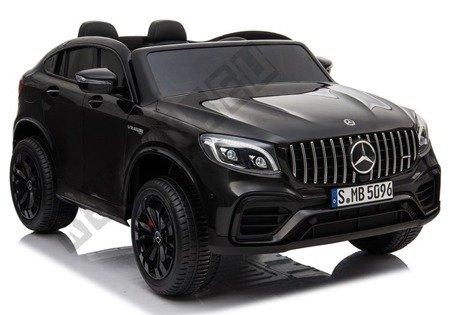Kinderfahrzeug Mercedes GLC 63S Schwarz lackiert