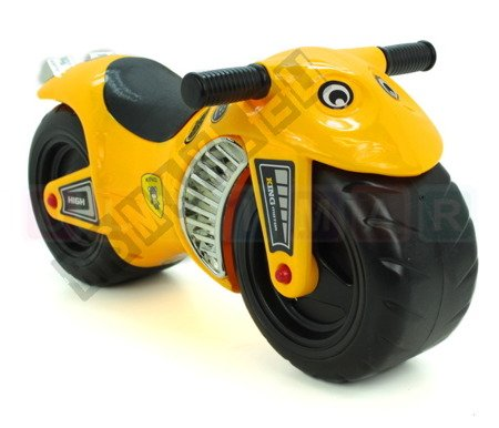 Kindermotorrad Rutscher Lauflernrad Rutschmotorrad Kinderfahrzeug Laufrad gelb