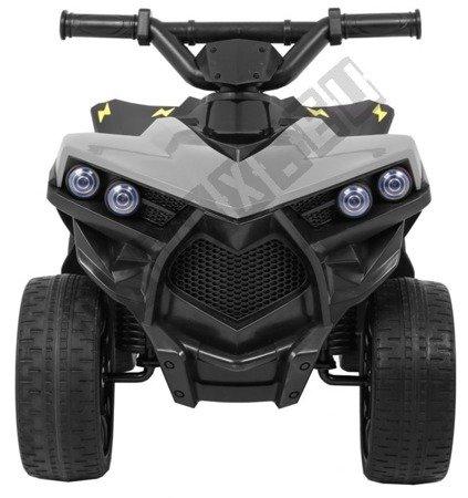 Kleines Quad Navi Kinderfahrzeug Elektrofahrzeug grau