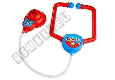 Krankenwagen Arztkoffer Doktor Koffer mit Zubehör 9 Elemente Spielzeug Set