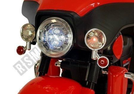 Motorrad ABM-5288 Rot