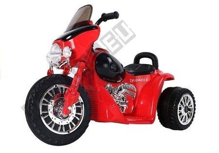 Motorrad JT568 Rot 1x35W LED Frontscheinwerfer Motorrad für Kinder