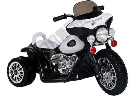 Motorrad JT568 Schwarz 1x35W LED Frontscheinwerfer Motorrad für Kinder