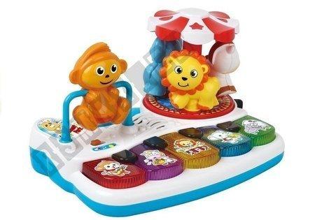 Piano + Tiergeräusche Sound- und Lichteffekte Spielzeug Karussell Musik
