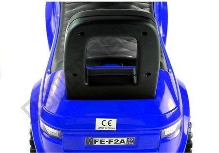 Rutschauto 613W Blau Fahrzeug für Kinder Sound- und Lichteffekten Baby