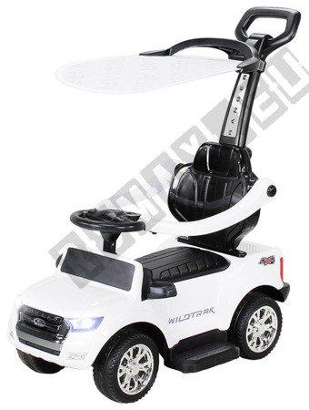 Rutschauto FORD RANGER Lizenz Rutscher Kinderauto Rutschfahrzeug Schiebeauto 4in1 Weiß
