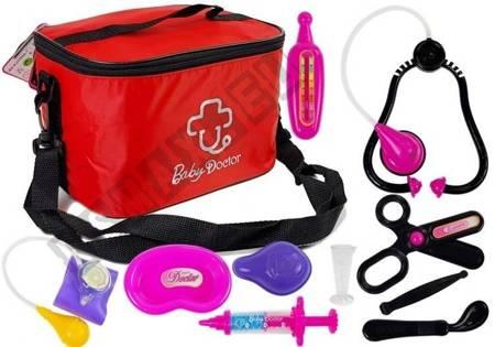 Set Arzt in einer Tasche mit Zubehör Stethoskop