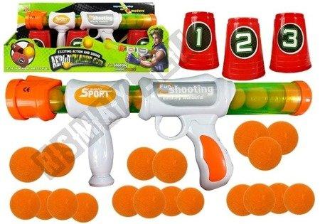 Spielzeugpistole + Schaumstoffpatronen