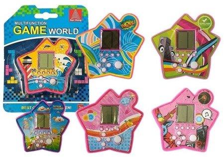 Tetris-Spiel Spielkonsole Tetris Spiel verschiedene Farben