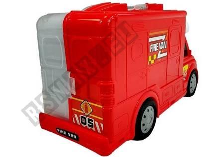 Tragbares Auto mit Zubehör Feuerwehrauto