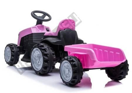 Traktor mit Anhänger TR1908T Rosa