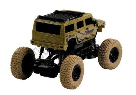 ferngesteuertes Auto Jeep R/C 1:18 Beige Auto