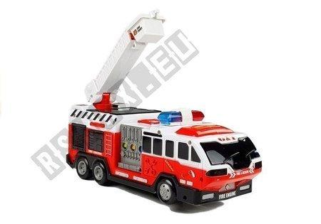 Auto Straż Pożarna z Drabiną Dźwięki Światła