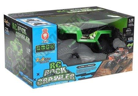 Auto Zdalnie Sterowane R/C 1:12 Zielony