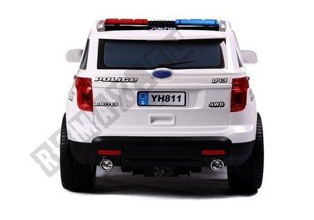 Auto na Akumulator CH9935 Policyjne Białe