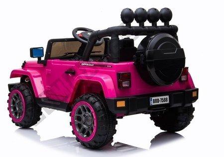 Auto na Akumulator Jeep BRD-7588 Różowy