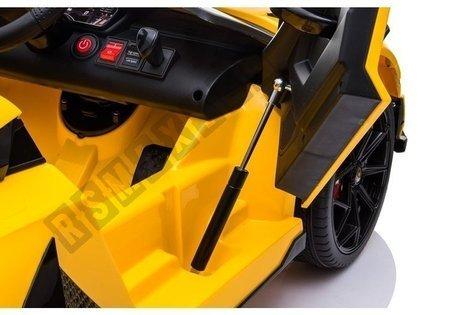 Auto na Akumulator Lamborghini Aventador Żółty