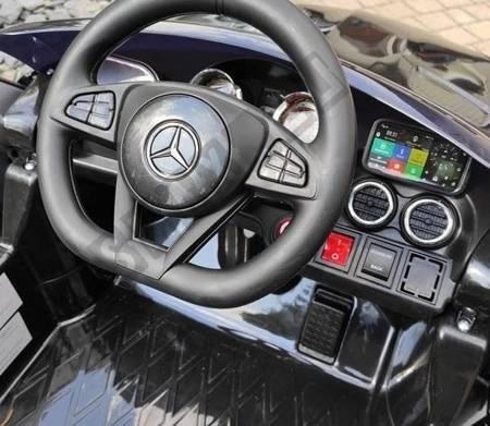 Auto na Akumulator Mercedes AMG GT R Czarny
