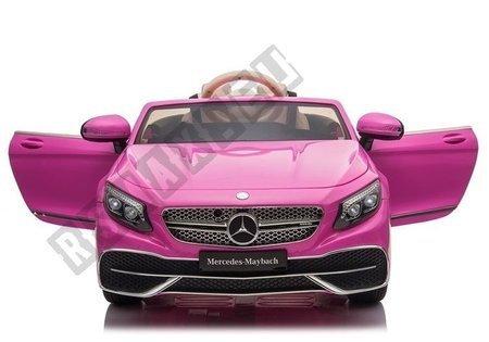 Auto na Akumulator Mercedes Maybach Różowy