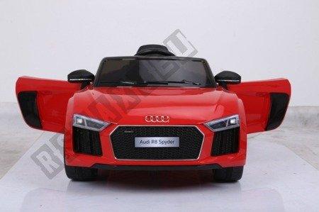 Auto na akumulator Audi R8 Spyder czerwony
