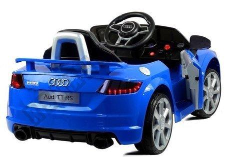 Auto na akumulator Audi TT RS Quattro Niebieskie
