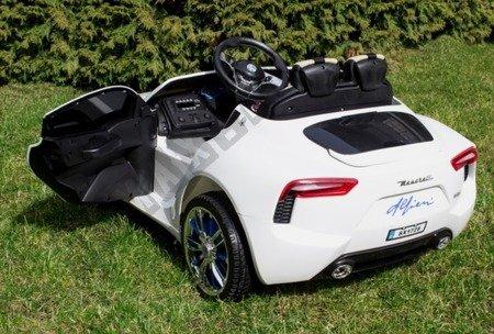 Auto na akumulator Maserati akumulator 12V biały