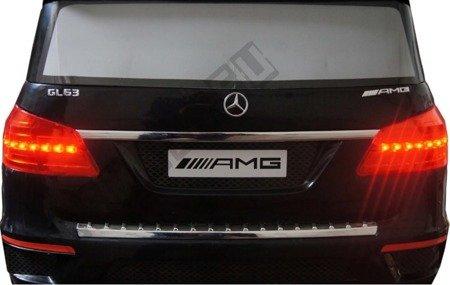 Auto na akumulator Mercedes GL63 AMG skóra czarny
