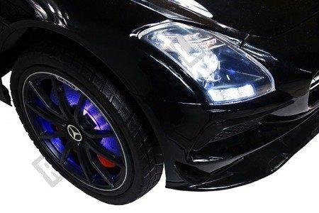 Auto na akumulator Mercedes SLS AMG czarny lakier
