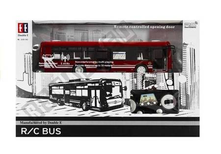 Autobus Zdalnie Sterowany 2,4GHz Zasięg 30 Metrów