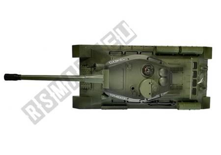 Czołg R/C 1:28 Zdalnie Sterowany Zielony z Bunkrem