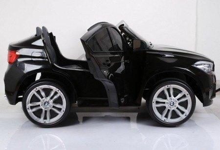 Dwuosobowe auto BMW X6M akumulator czarny lakier