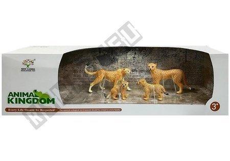 Gepard Figurki Edukacyjne 4 sztuki Sawanna