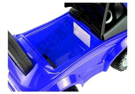 Jeździk dla Malucha 613W Gra + Świeci Niebieski