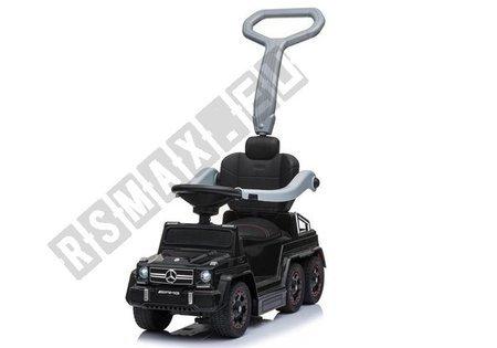 Jeździk z Pchaczem Mercedes 6x6 SX1838 Czarny