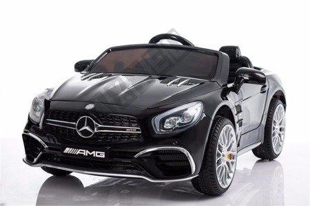 Mercedes-Benz SL65 AMG Coupe na akumulator czarny