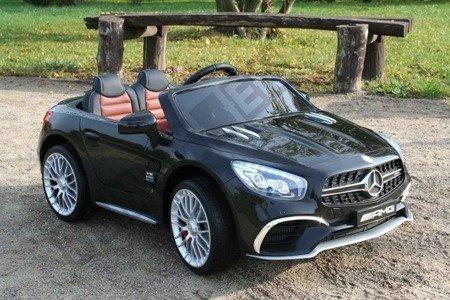 Mercedes-Benz SL65 Coupe na akumulator czarny lakier