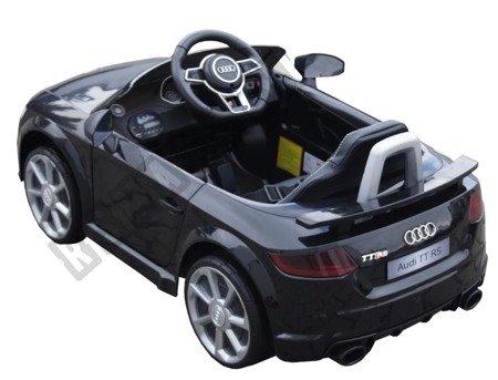 Mini Audi TT RS na akumulator Licencja czarne !