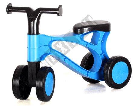 Mini rowerek do odpychania jeździk niebieski