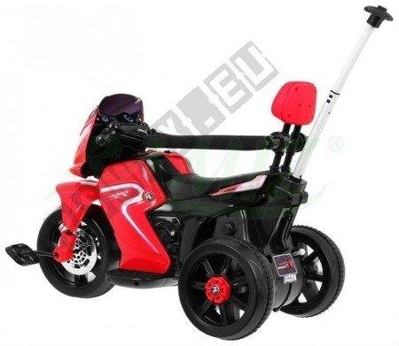 Pojazd Motorek Rowerek Pchaczyk 3w1 czerwony