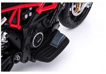 Pojazd na Akumulator Aprilia A007 Czarno Czerwony