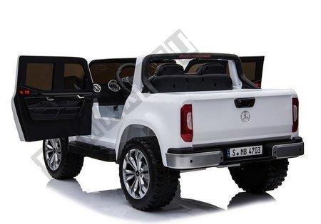 Pojazd na Akumulator Auto Mercedes X Biały