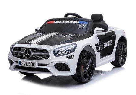 Pojazd na Akumulator Mercedes SL500 Policja Biały