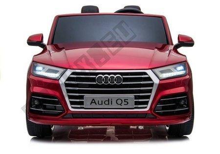 Pojazd na Akumulator Nowe Audi Q5 2-osobowe Czerwone Lakierowane
