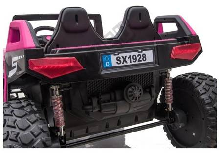 Pojazd na Akumulator SX1928 4x4 24V Różowy
