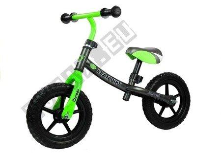 Rower Biegowy CORRADO Do Odpychania Czarny Zielony