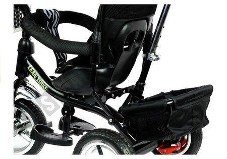 Rower Trójkołowy PRO300 Czarny Koła EVA Dla Dzieci
