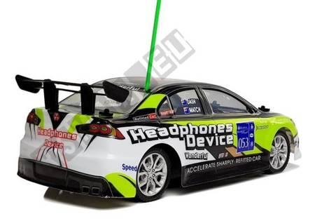 Sportowe Autko Zdalnie Sterowane R/C 27 MHz Zielone